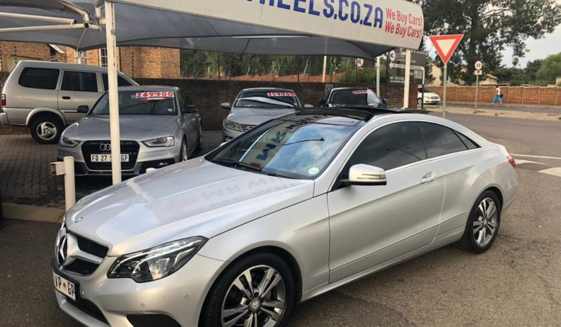 2016 Mercedes Benz E250Cdi Coupe full