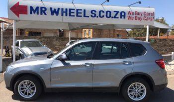 2016 BMW X3 2.0d  Auto full